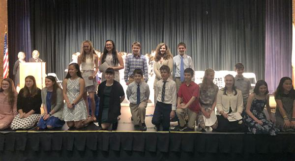 Monomoy Regional Middle School welcomes new inductees into National Junior Honor Society