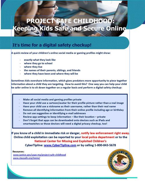 Digital Safety Checkup
