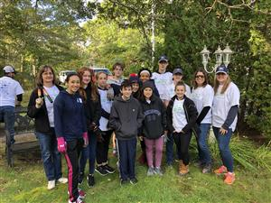Team Monomoy volunteers at the Big Fix