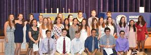 Monomoy Regional High School inducts new members into National Honor Society