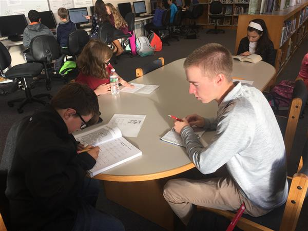 MRMS and MRHS join together for tutoring partnership