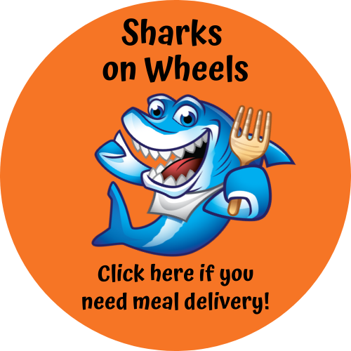 Sharks on Wheels meal delivery registration form